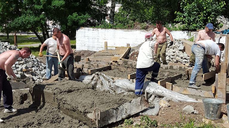 Благодарим за помощь и продолжаем строить всем миром