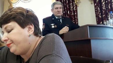 Доклад Шпильчака Р. Я. о работе полиции СГО