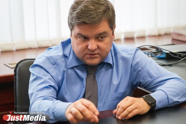 Руководитель аппарата администрации Екатеринбурга Илья Захаров