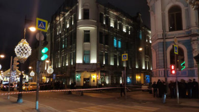 Неизвестный открыл стрельбу у здания ФСБ в центре Москвы