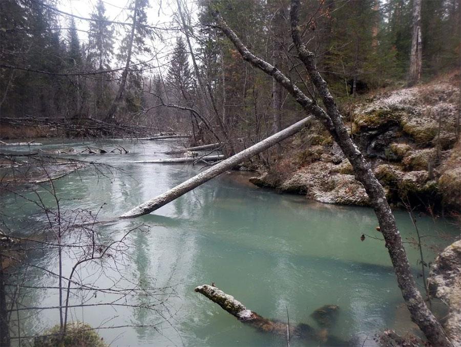 Исследование пещер на реке Тальтия, Свердловская область