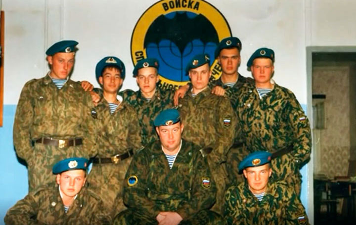 Военная служба Дмитрия Шектаева