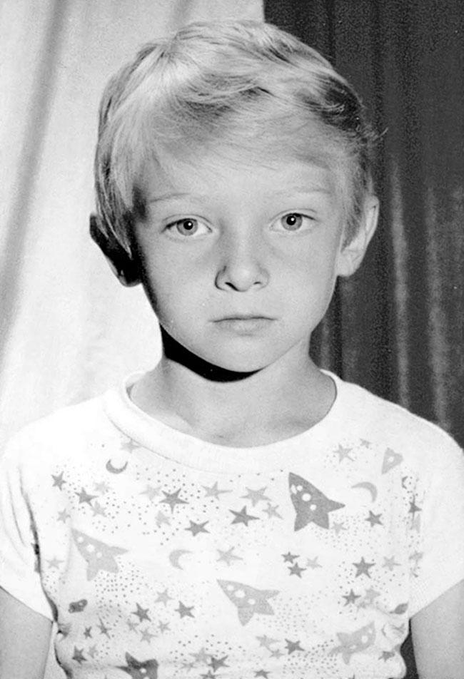 Дмитрий Шектаев в детстве