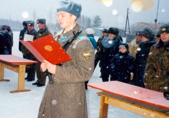 Дмитрий Шектаев - принятие присяги