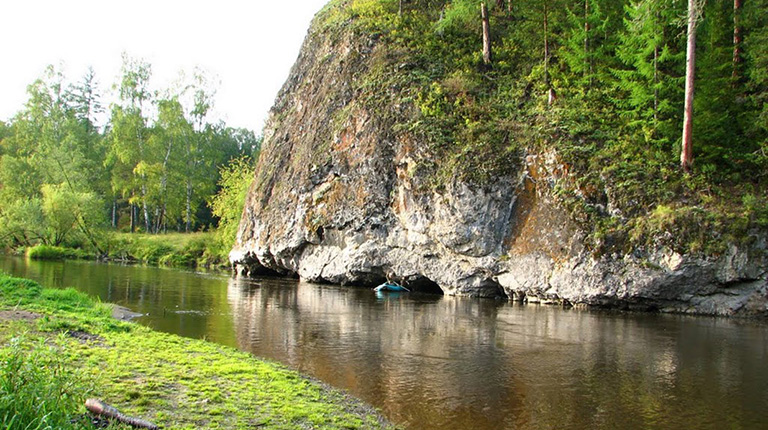 Река Вагран Свердловская область