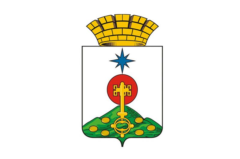 Современный герб Североуральска