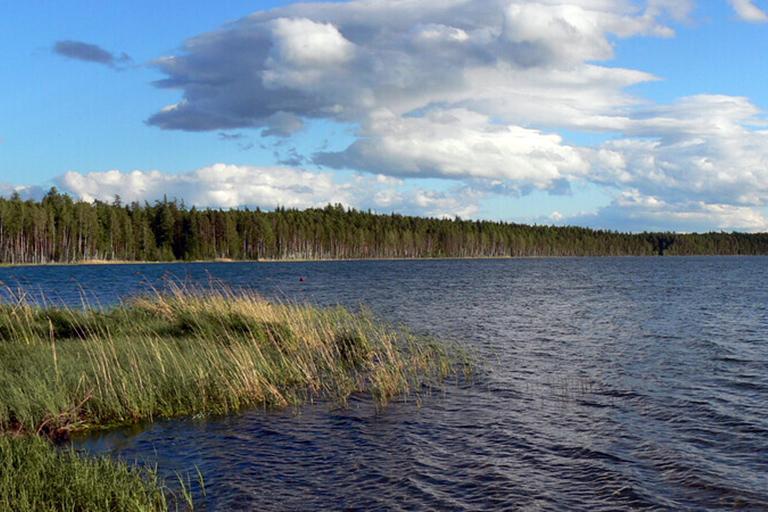 Озеро Светлое Североуральский район