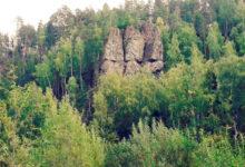 Скалы «Три брата» Североуральск