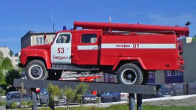 Пожарный автомобиль Североуральск
