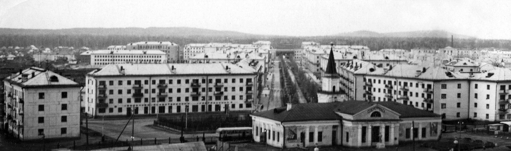 Вокзал Североуральска (панорама)
