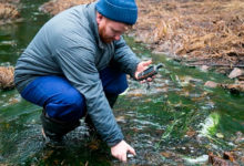 Photo of Общественники снова фиксируют загрязнение рек врайоне медных карьеров УГМК