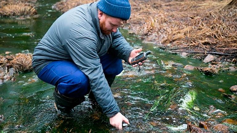 Общественники снова фиксируют загрязнение рек в районе медных карьеров УГМК