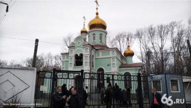 Захват храма Ксении Петербургской
